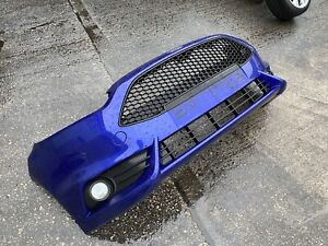 FORD FIESTA ST180 SPIRIT BLUE COMPLETE FRONT BUMPER AS PICTURED RARE PART
