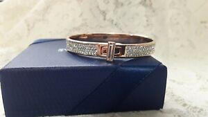 Swarovski Gave 18k Rose Gold-Plated Bracelet  #5422410