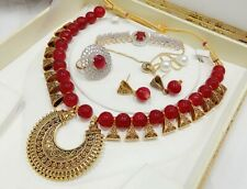 Design Stylish Antique For Women Pendant Necklace Jewelry Set Latest