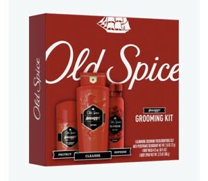 *NEW*-Old Spice Swagger Grooming Kit - A/perspirant Deodorant - Body Wash/Spray