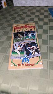 1985 Seattle Mariners Baseball Media Guide