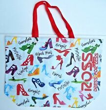 REUSABLE SHOPPING TRAVEL TOTE BAG SHOES PRINT ECO FRIENDLY ROSS NEW