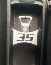 VW GTI 35 Emblem Getränke Halter Golf 5, 6 Flaschenöffner Volkswagen Z027