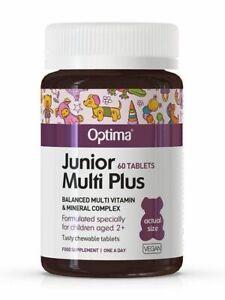 Junior Multi Plus 60 Capsules (Optima)
