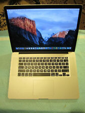 Apple RETINA Macbook Pro 15in 2013, 768GB, new screen, low cycles, loaded!