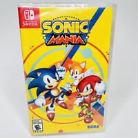 Sonic Mania SEGA Nintendo Switch & Lite BRAND NEW FACTORY SEALED