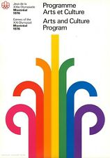 Montreal 1976 Olympics - 10 Original Official Posters