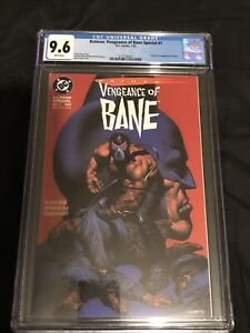 Batman: Vengeance of Bane Special #1 CGC 9.6