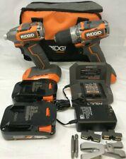 RIDGID R9780 18V SubCompact Drill Driver & Impact Driver Combo Kit, ZX118