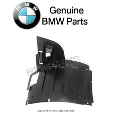 BMW E39 530i 540i Front Passenger Right Engine Side Cover Fender Liner Genuine