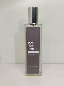 BODY SHOP LIFE IS... EAU DE TOILETTE EDT 50ml New Discontinued