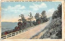 Br45556 A Long Steep Grande on the west side First Curve Mohawk trail usa