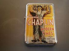 CHARLIE CHAPLIN MODERN TIME MOVIE STAR CIGARETTE LIGHTER & EXTRA ZIPPO FLINTS