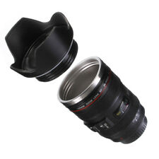 Petal Stainless Steel Camera Lens Coffee Tea Mug Cup Thermos Canon EF 24-105mm