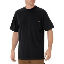 Dickies WS450 Short Sleeve Heavyweight T-Shirt W/Pocket, Various Colors, M-5XL