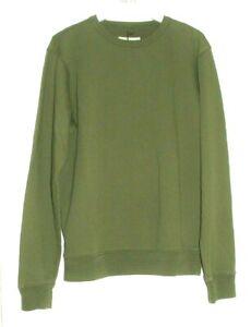 ALBAM Sports Sweatshirt  Khaki Green Size Small  RP £99.00 Mr. Porter, Oi Polloi