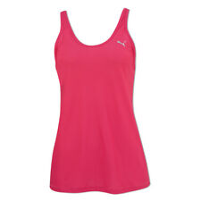 Puma Mesh Layer Gym Tank in Raspberry Pink - 39% OFF RRP