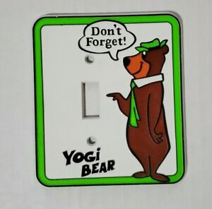 Yogi Bear - Light Switch Cover Vintage