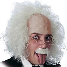 Perruque gris platine de savant fou chirugien déjanté chimiste Einstein [2706]
