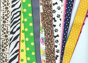 7/8 inch mix, prints, dots stripes, animal prints 30 yards great bargain Lot 4