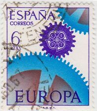 (SPB36) 1967 SPAIN 6p blue & purple ow1854 $1.00
