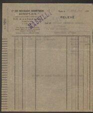 """PARIS (XVIII°) USINE de BOUCHAGES HERMETIQUES """"Cie SIMPLEX"""" en 1932"""