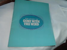 Original Gone With the Wind by Bob Thomas Movie Souvenier Brochure