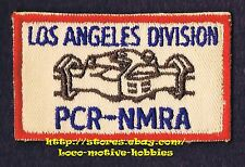 LMH Patch PCR NMRA Pacific Coast Region LOS ANGELES Division PSR  NATIONAL MODEL