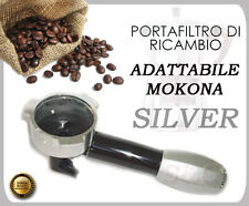 BOOM ARM FILTER HOLDER FILTER SILVER FOR MOKONA BIALETTI GAGGIA G107 NEW