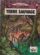 Timour 24. Terra Sauvage. Sirius 1987 - Eo. TB
