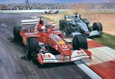 2002 Championship Clincher (Ferrari Schumacher & McLaren Raikkonen) M. Tuner