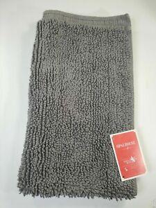 Opalhouse Grey Perfectly Soft Bath Rug 20 x 32 inches 100% Cotton