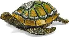 Bejeweled See Turtle W / Herz Schmuckkästchen