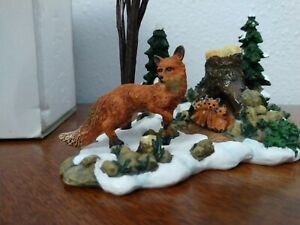 Dept 56 Foxes in the Forest Village Accessories Woodland Animals Mill Creek