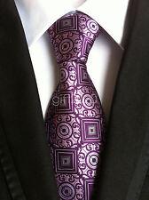 Fashion Mens Silk Tie Necktie Paisley  Neck Ties Wedding party gift