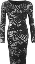 Party/Cocktail Stripes Machine Washable Plus Size Dresses for Women