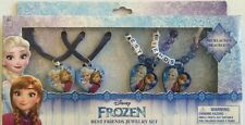 DISNEY FROZEN BEST FRIENDS JEWELRY SET NECKLACES & BRACELETS ANNA ELSA