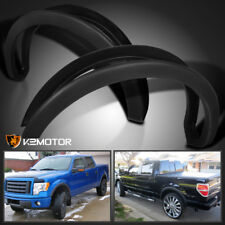 2009-2014 Ford F150 4PC Factory Style Matte Black Wheel Cover Fender Flares