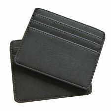 Mens Ultra Thin ID Credit Card Pack Slim Coins Cash Purse Holder Mini Wal zzss
