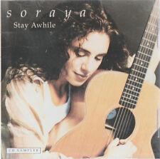 SORAYA Stay Awhile 3Track SAMPLER RARE PROMO CD Single 96
