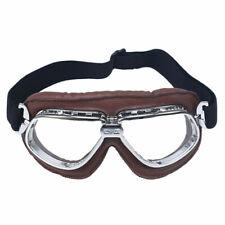 Retro Pilot Vintage Goggles Aviator Motorcycle ATV MX Eyewear Glasses Flying MX