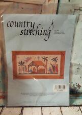 Country Stitching Vintage #406 Christmas Creche  Kit Nativity Scene  -- NIP