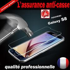 Vitre Galaxy S8/S7/S6/S5/A8/A5/A3/J5/J7/J3 protection verre trempé écran SAMSUNG