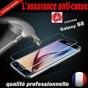 Vitre Galaxy S8/ S7/S6/S5/A5/A3/J5/J3 film protection verre trempé écran SAMSUNG