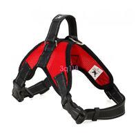New Large Pet Adjustable Dog Harness Vest Collar Soft Collar Walk Out Hand Strap
