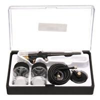 Mini Siphon Feed Airbrush Single Action Air Brush Kit 0.8mm Spray Gun Paint