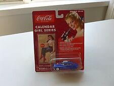 NEW JL COCA/COLA CALENDAR GIRL SERIES #3 '49 MERCURY CONVERTIBLE DIECASTVEHICLE