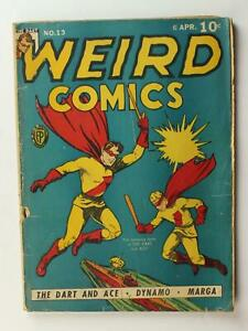 1941 WEIRD COMICS # 13 (FR)