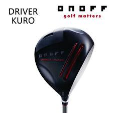 ONOFF GOLF JAPAN DRIVER KURO Smooth Kick MP-617D 2018 Continuation Model