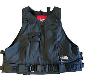 Supreme x The North Face RTG Box Logo Vest Gore-Tex Black Size M TNFSS20